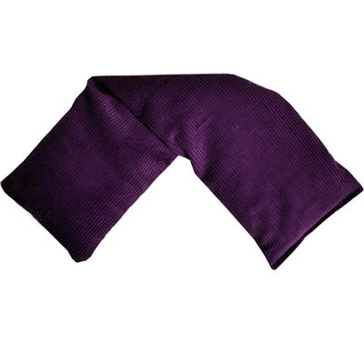 Purple Cord Wheat Wrap in Acetate Gift Box